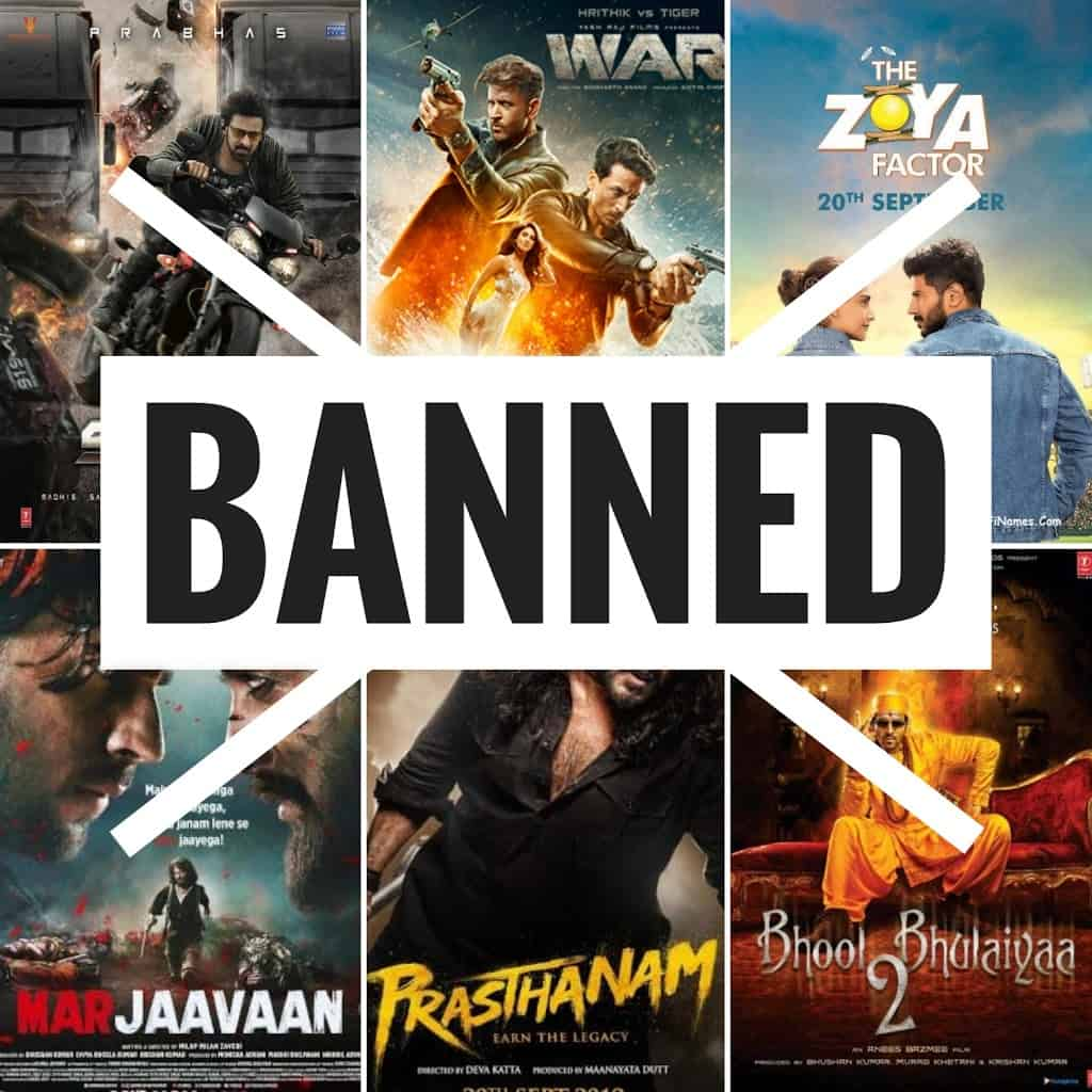 Indian Movies banned in Pakistan