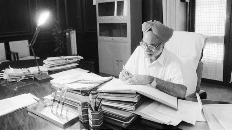 Dr. Singh in office