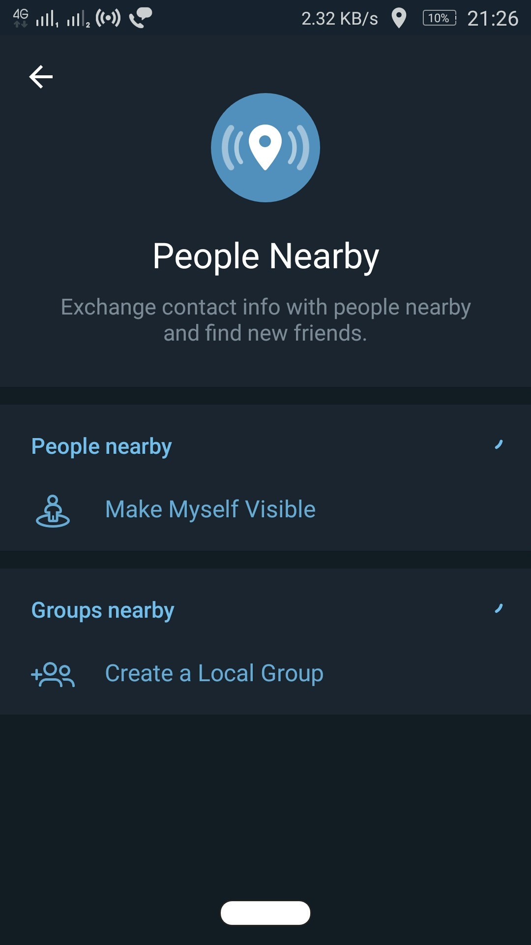 People Nearby 2.0 Step 5