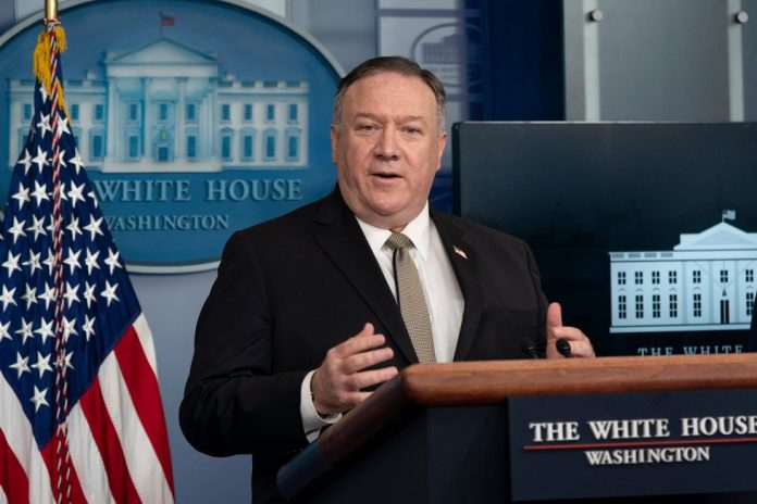 Us secretary of state mike pompeo announced visa restrictions