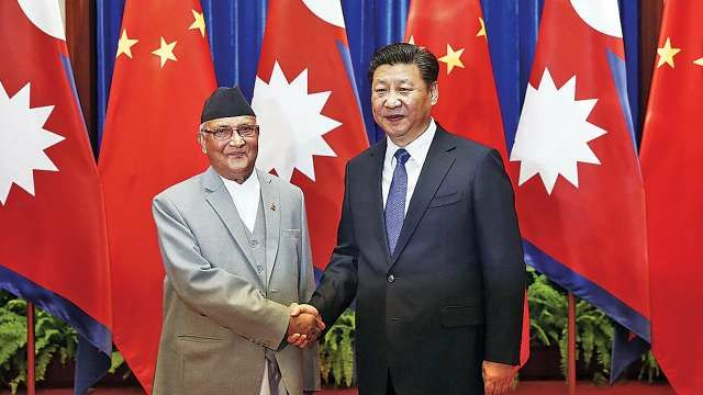 China captured Nepal land