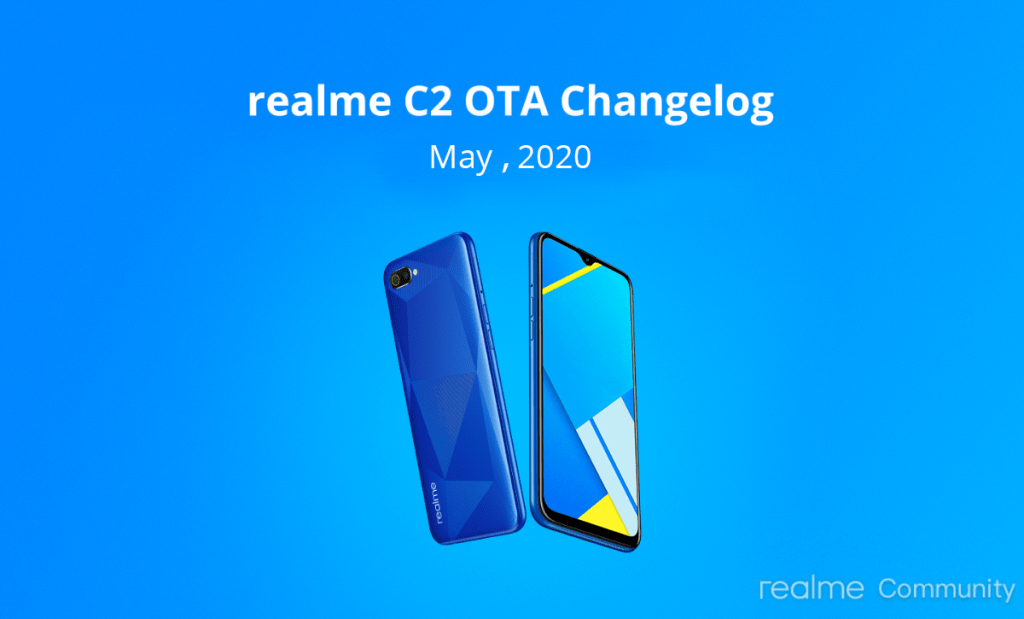 Realme C2 Update with Android Security Patch of May