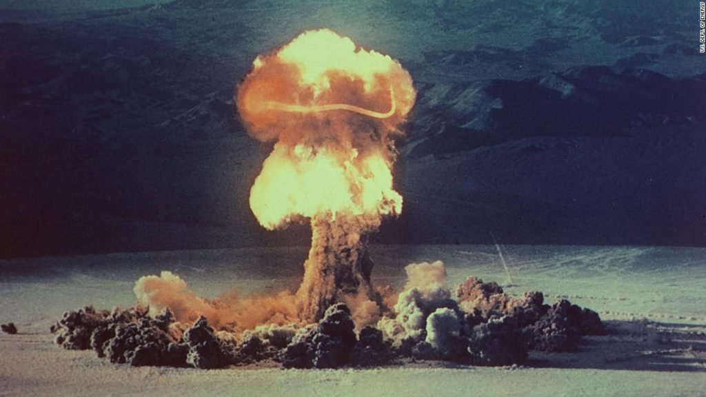 US Nuclear Test