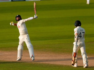 Chris Woakes after England best Pakistan at Old Trafford
