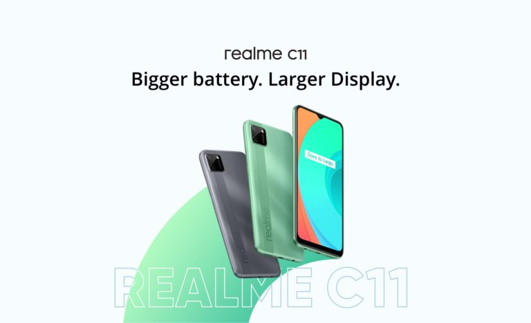 Realme C11 Launched in Europe with MediaTek G35 at € 99