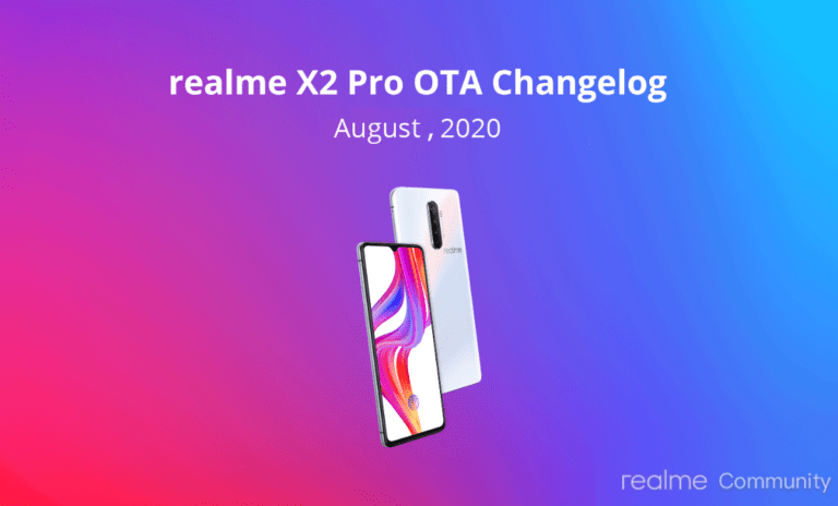 Realme X2 Pro Update Rolling Out with August Security Patch