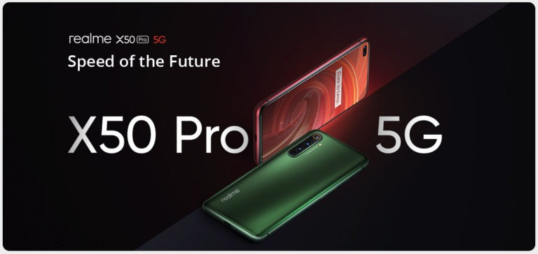 Realme X50 Pro 5G Launched in Indonesia at Rp