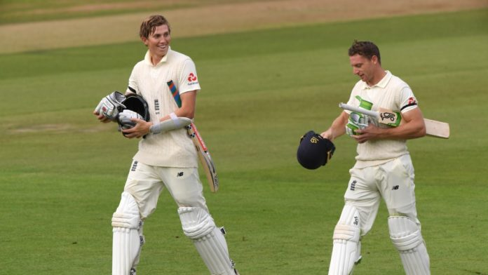 Zak Crawley and Jos Buttler made record 359 run stand , Eng vs Pak 3rd Test Day 2