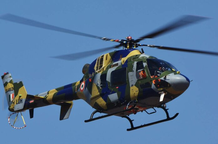 Light Utility Helicopter (LUH) received its IOC