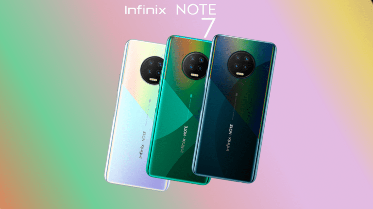 INFINIX Note 7 Launched with Helio G70 Processor at ₹ 11,499