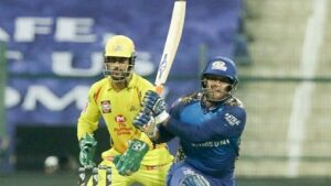 CSK VS MI : Rayudu's 71 run knock helped CSK beat MI by 5 wickets
