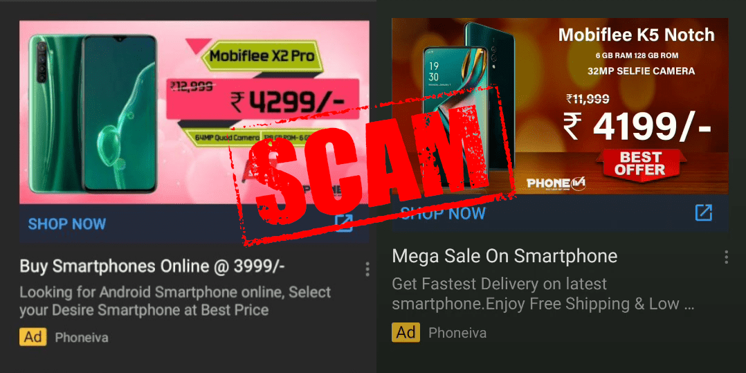 Mobiflee Scam on Phoneiva