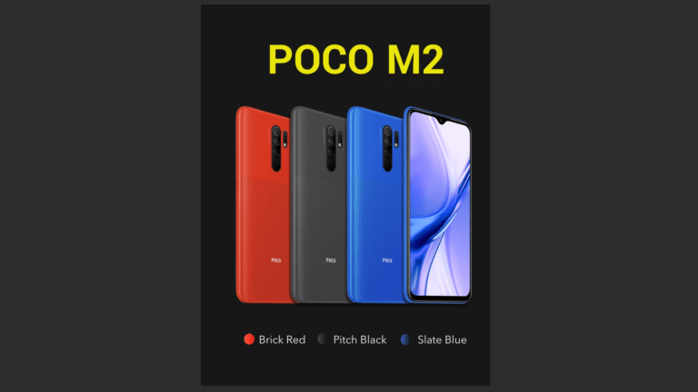 POCO M2 Launched at Rs 10,999 with FHD+ Display, Quad Camera