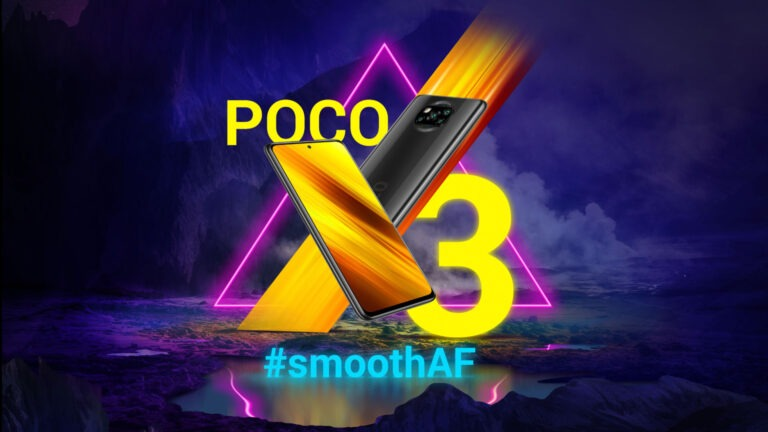 POCO X3 with Snapdragon 732G, 120 Hz Display at Rs 16999