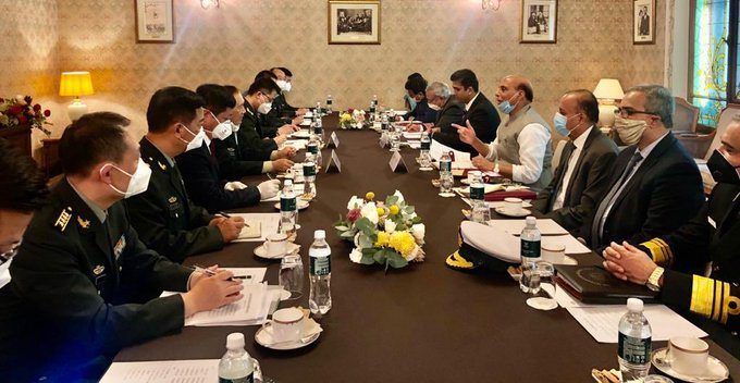 Rajnath Singh, Result of India China Defence Minister meeting