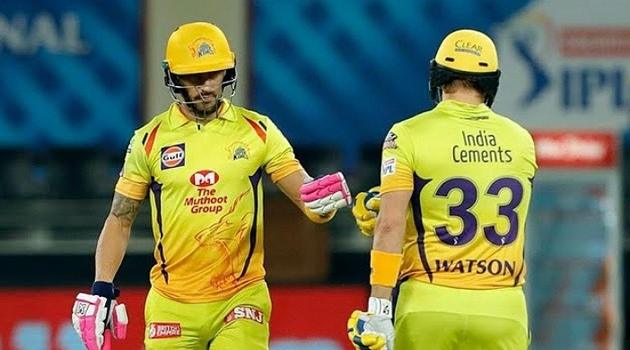 CSK vs KXIP : Shane Watson and Faf Du Plessis hammered down KXIP to a 10 wickets defeat