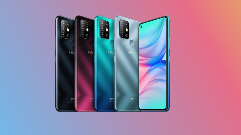 INFINIX HOT 10 Color Options