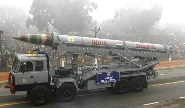 New variant of Shaurya missile