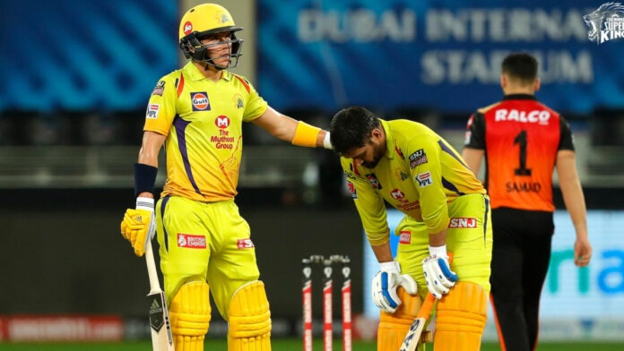 CSK vs SRH : MS Dhoni struggling not a good sign for CSK