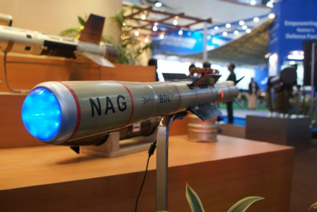 India successfully conducted final trial of Nag Missile