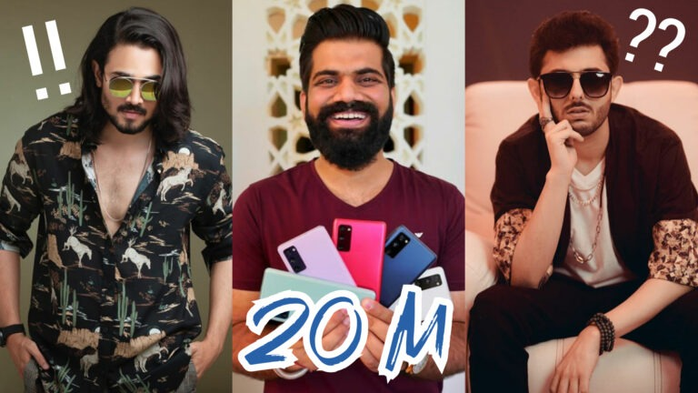 As Technical Guruji completes 20M subs, here are India's Top 5 most subscribed YouTubers