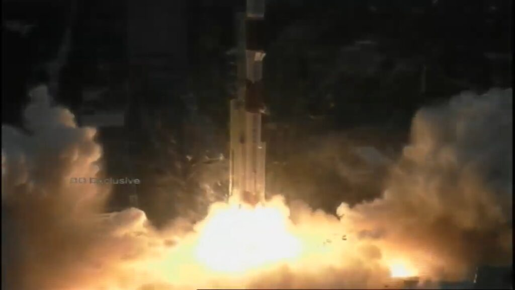ISRO launches PSLV-C49