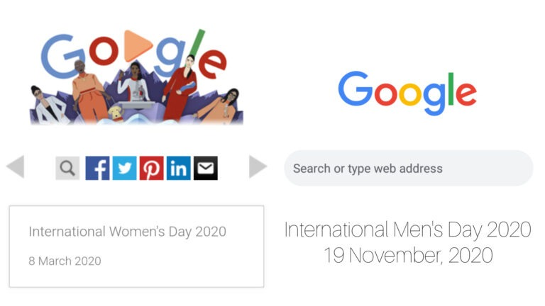 'Google' gets heavily trolled for not making any doodle on International Men's Day 2020