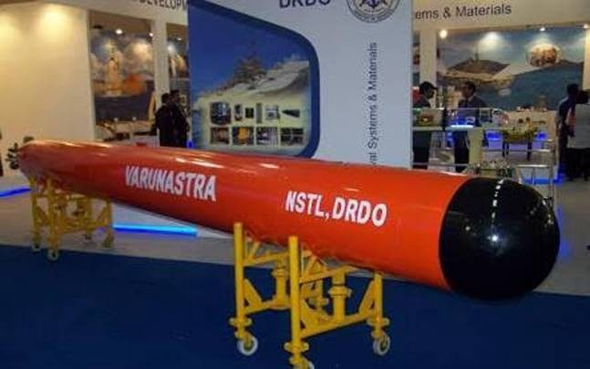 Varunastra torpedo delivered