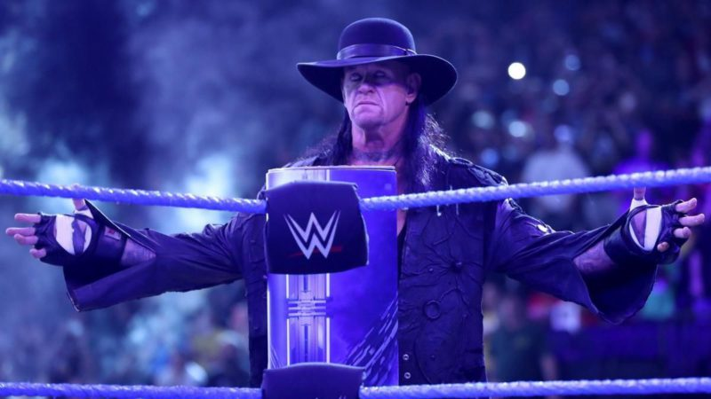 The Undertaker final farewell
