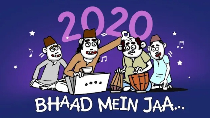 Watch this Viral song 'Bhaad Mein Jaa 2020' to Laugh Out Loud