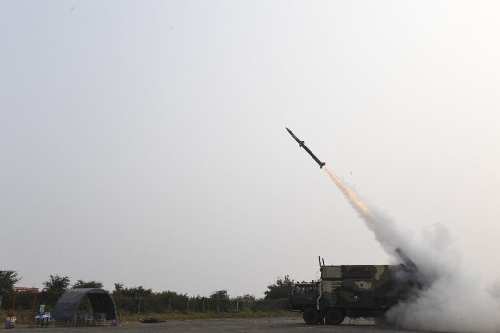 Akash NG successfully test fired by DRDO