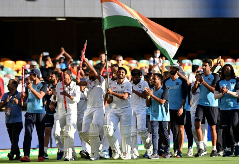 Congratulations pour in as India marks the historic Test series win in Gabba