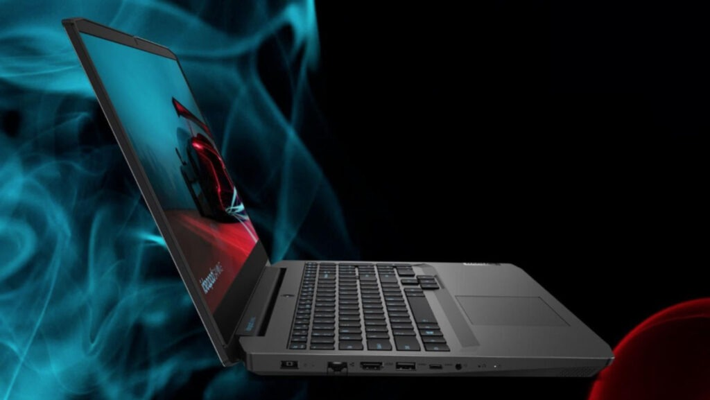 Lenovo Ideapad Gaming 3 82EY0024IN Left View