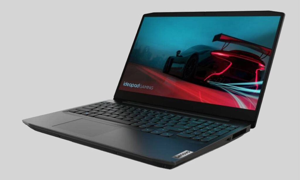 Lenovo Ideapad Gaming 3 82EY0024IN Side View