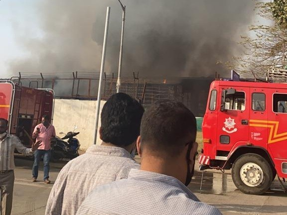 Massive fire breaks out on the sets of Adipurush