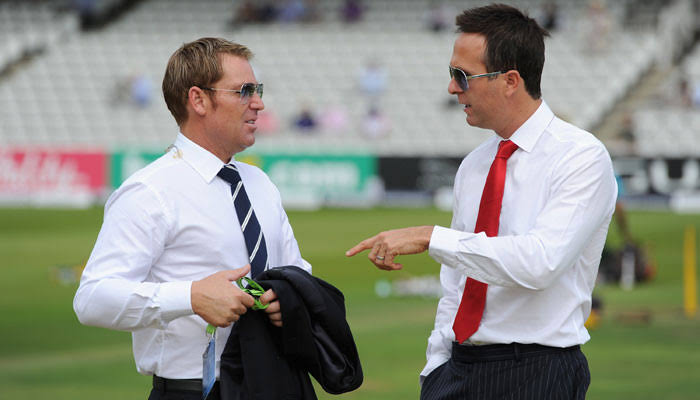IND Vs ENG: Michael Vaughan, Shane Warne Twitter Battle
