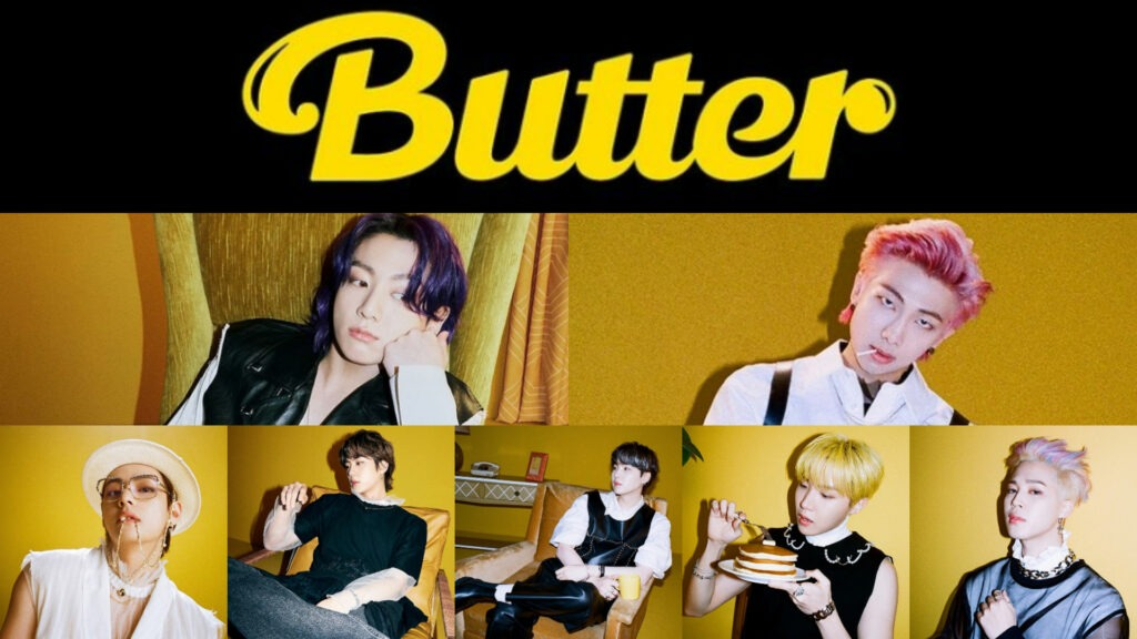Butter music video release time in India