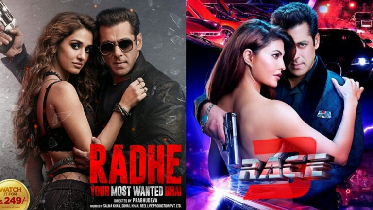 Radhe beats Race 3 to become Salman Khan's worst rated movie ever